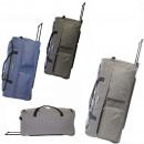Travel suitcase on wheels TB03 Tweed XXL colors