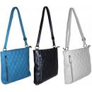 Großhandel Handtaschen: Schöne gesteppte  Handtasche A5 NEW HIT!