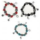 Großhandel Beads & Charms: Armband Steine Perlen + Anhänger kostenlos
