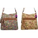 Großhandel Handtaschen: Tasche Frauen  listonoszka A4  Eulen Glitzer-MAT ...