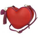 Oryginalna torebka damska firmy JUSTFAB HEART