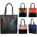 FB30 mujeres de hombro del bolso A4 Mix Colors