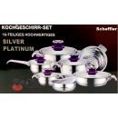 wholesale Houshold & Kitchen: Kochtopfset 16  tlg.-INDUKTION- NEW MODEL 2016 Purp
