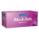 wholesale Erotic-Accessories: Condoms Pasante  RIBS & DOTS 144 pcs