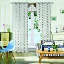 Gardine für Wohnzimmer Schlafzimmer 1er-Pack 93009