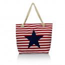 ingrosso Borse & Viaggi: borsa a tracolla  signore con la stella rossa 23043