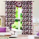 Gardine für Wohnzimmer Schlafzimmer 1er-Pack 93005