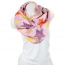 Großhandel Fashion & Accessoires: Damen Loop schal  Tuch gute Qualität 150699 Lila
