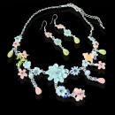 2-pièce ensemble  de bijoux de mode colorée avec de