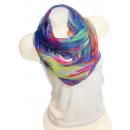wholesale Fashion & Mode: Ladies Loop scarf  scarf good quality 9D0078 Blue