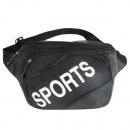 grossiste Sacs à main: Fanny sac de  taille pack sac noir T005-03 Schwa