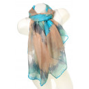 wholesale Fashion & Apparel: Ladies Loop scarf scarf good quality 9D0110 Blue,