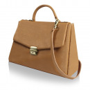 wholesale Handbags: Ladies Fashion  Leather Bag Small Beige