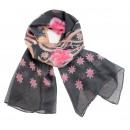 Ladies Loop scarf  scarf good quality 9D0161 Grey