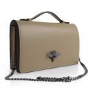 Großhandel Taschen & Reiseartikel: Damen Clutch echt  Leder Tasche Abendtasche mit Ket