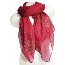 wholesale Fashion & Apparel: Ladies Loop scarf scarf good quality 9D0194 Red