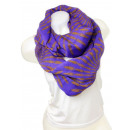 wholesale Scarves & Shawls: Ladies Loop scarf  scarf good quality 9D0142 Lilac