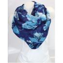 wholesale Fashion & Mode: Ladies Loop scarf  scarf good quality Blue 150560