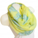 Ladies Loop scarf  scarf good quality XF14-2 Yellow