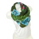 Snood scarf 9D0122 Gruen
