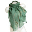 wholesale Fashion & Apparel: Ladies Loop scarf scarf good quality 9D0194 Green