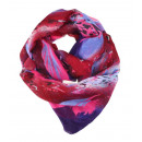 wholesale Fashion & Mode: Scarf / Snood /  Loop / 9AD0172 Red Pink Purple