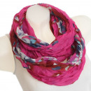 wholesale Fashion & Mode: Ladies Loop scarf  scarf good quality 9D0020 Pink