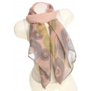 wholesale Fashion & Mode: Ladies Loop scarf  scarf good quality 9D0071 Orange