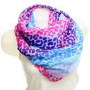 wholesale Scarves & Shawls: scarf loop SJL14-20 bunt3