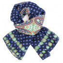 Ladies Loop scarf  scarf good quality 9D0162 Blue
