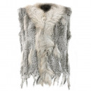 ingrosso Cappotti e giacche: Donne vera  pelliccia  pelliccia di gilet ...