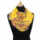 Ladies Loop scarf  scarf good quality Yellow 150971