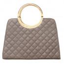 Shopper Tasche  Damentasche Handtasche T9 Grau
