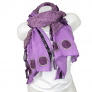 Ladies Loop scarf  good quality cloth 150893 Purple