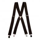 wholesale Belts: Unisex elastic  Dark brown High Belts