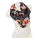 Snood scarf 9D0122 Brown
