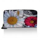 grossiste Bagages et articles de voyage: Porte-monnaie avec  motif floral, porte-monnaie