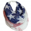 Schlauchschal  Damen Rundschal USA Flagge 1