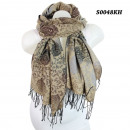 Scarf with  different pattern S0048KH