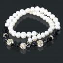 ingrosso Gioielli & Orologi: Moda collana di  perle gioielli (il nero) 80038