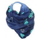 wholesale Fashion & Mode: Snood Snood Ladies Loop 9D0024 Blue