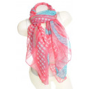 wholesale Fashion & Apparel: Ladies Loop scarf scarf good quality 9D0105Pink