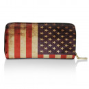 Wallet in USA and UK flags 25073