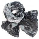 Ladies scarf shawl SCARF 9D0165 Grey