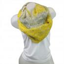 Ladies Loop scarf  scarf good quality Yellow 150521