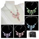 Großhandel Ketten: Damen Collier  Halsband Anhänger Kette 41072