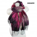 Scarf with  different pattern S0048PK
