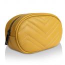 Großhandel Taschen & Reiseartikel: Bauchtasche echt Leder Tasche gelb