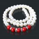 wholesale Jewelry & Watches: Damenschmuck  Parlen Chain Necklace 41004 Red