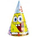 Spongebob - 6 Party-Hütchen